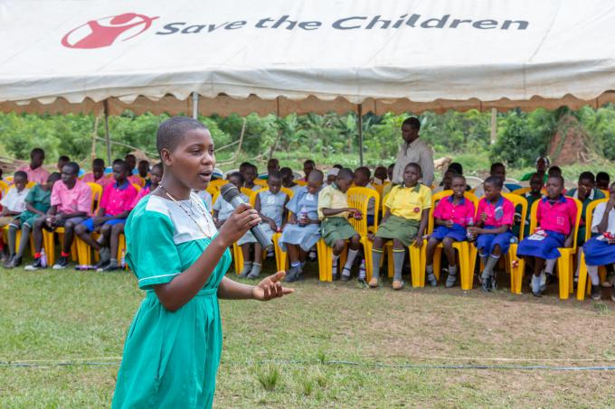 Supporting children to speak out in Wakiso. Joseph Bugabo / Save the Children