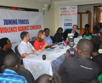Six leading NGOs join forces to end violence against children in schools