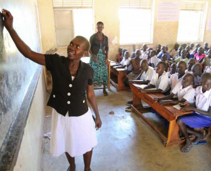 New education programme launched for 100,000 refugee and Ugandan children