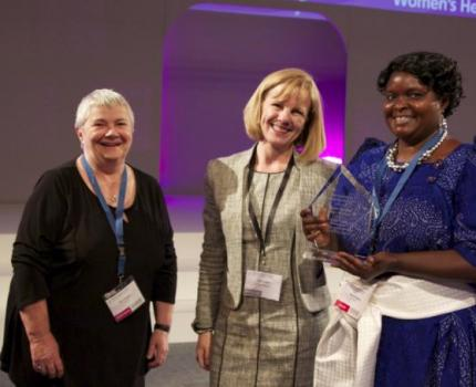 Uganda Midwife Wins Prestigious International Award