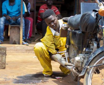In pictures: Supporting youth entrepreneurs to prosper