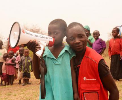 Meet Philemon, Save the Children caregiver in Kyangwali Refugee Settlement