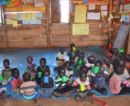 Feeding programme boosts early childhood education enrolment