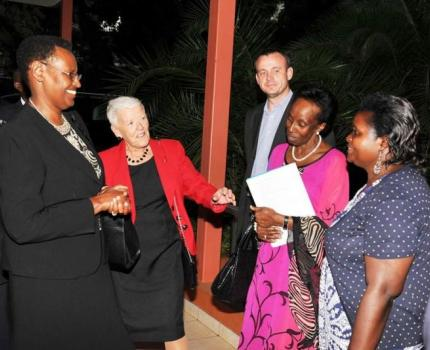 First Lady graced a discussion on Maternal and Newborn Child Health Organized by Save the Children