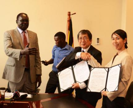 Japan Government signs sh1.6b contract for disaster preparedness