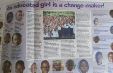 Boys and girls across Uganda discuss girls' rights